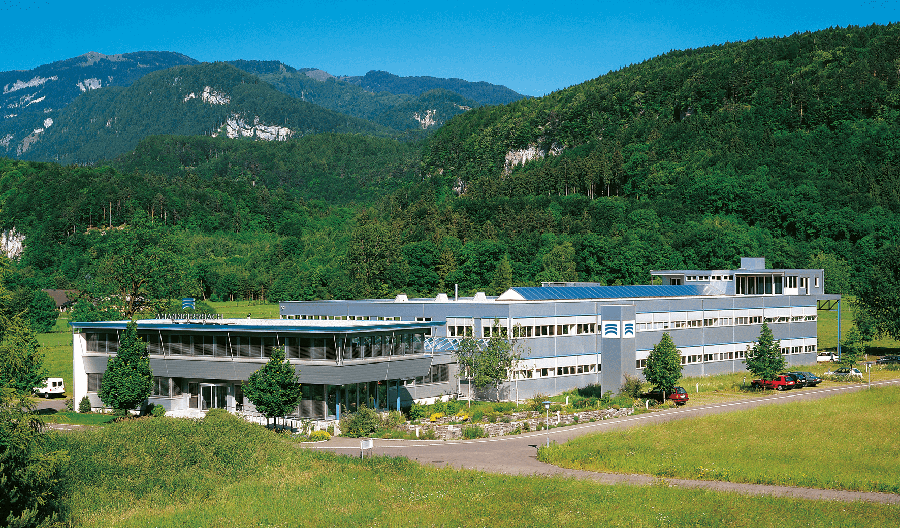 Picture of the headquarters of Amann Girrbach