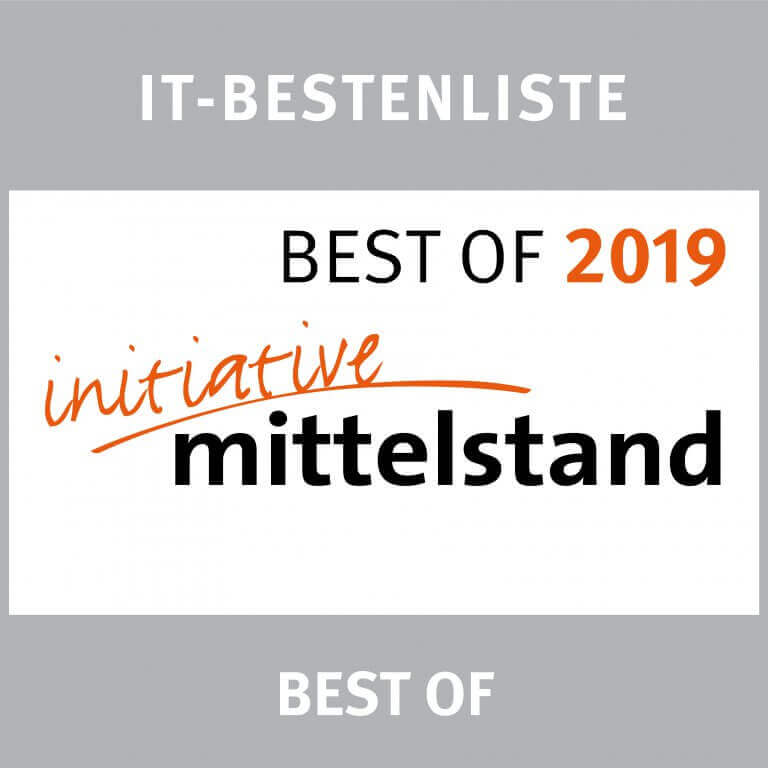 Signet IT-Bestenliste Best of 2019 initiative Mittelstand