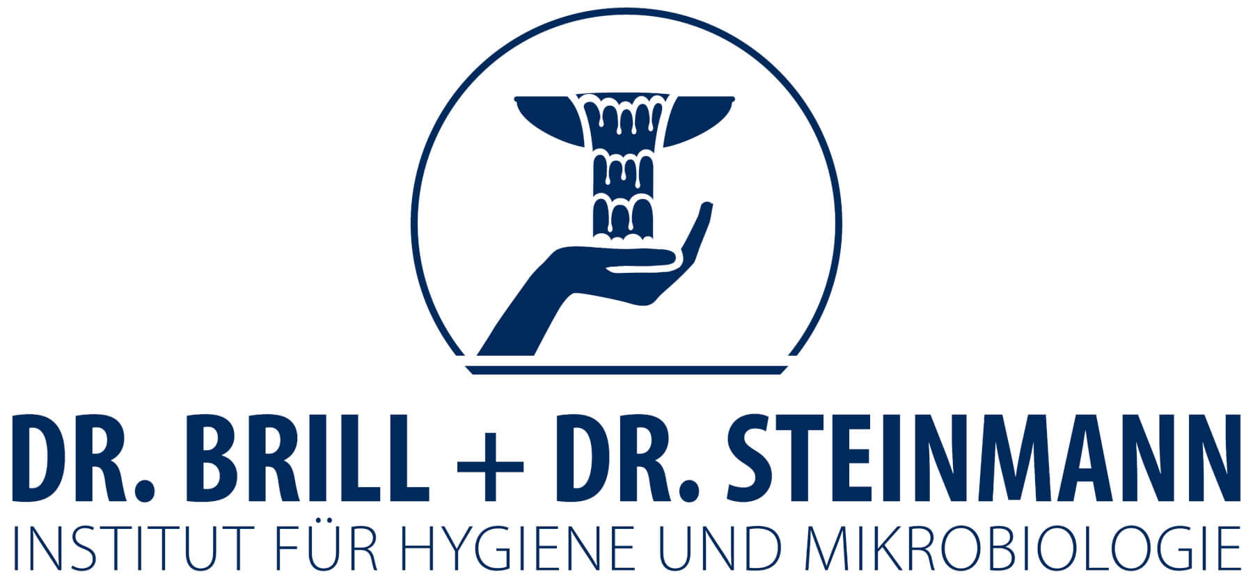 Display of the logo of Dr. Brill + Partner Institute for Hygiene and Microbiology