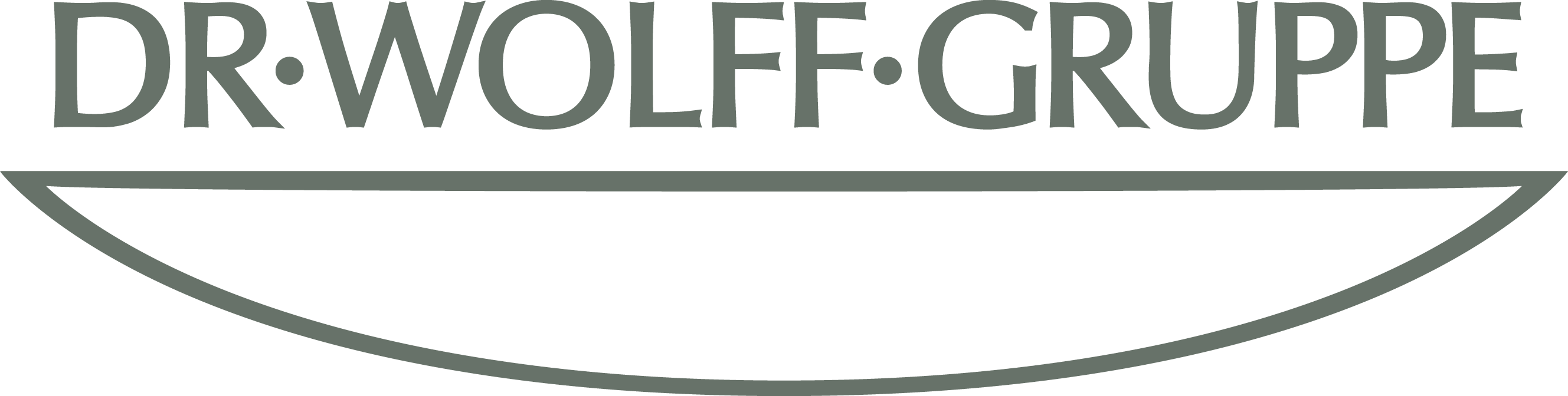 Representation of the logo of Dr. Wolff Group