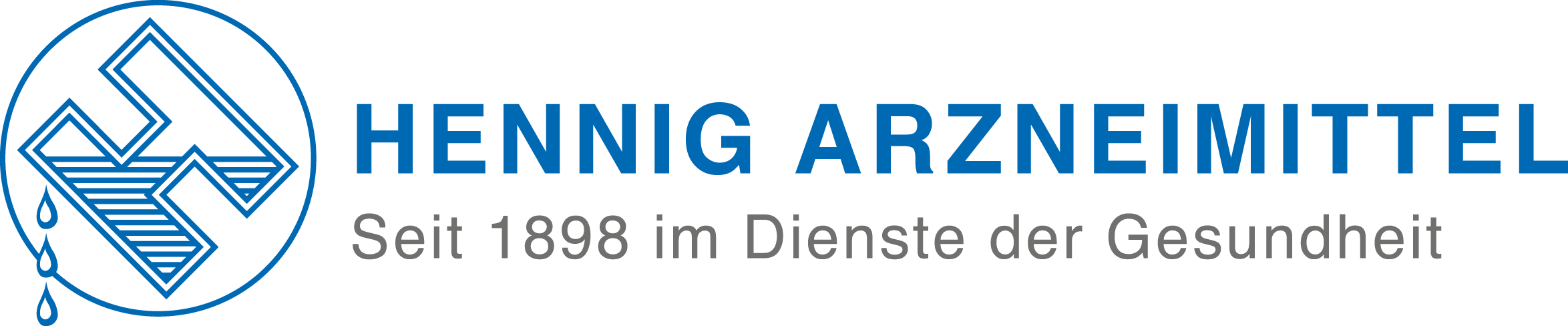 Display of the logo of HENNIG ARZNEIMITTEL GmbH & Co. KG