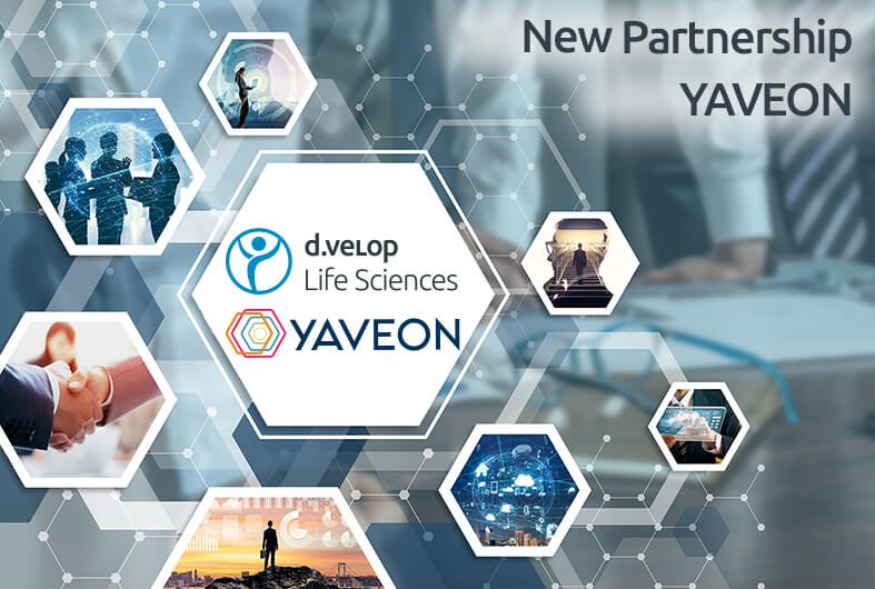 New partnership between d.velop Life Sciences and YAVEON