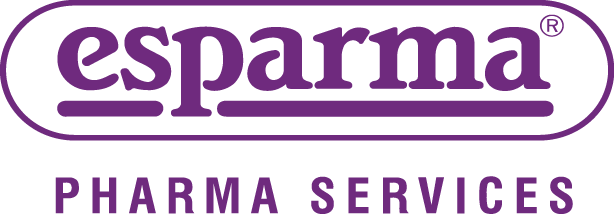 Representation of the logo of esparma Pharma Services GmbH